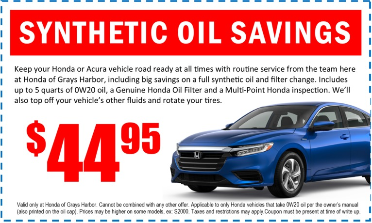 Synthetic Oil Special - January