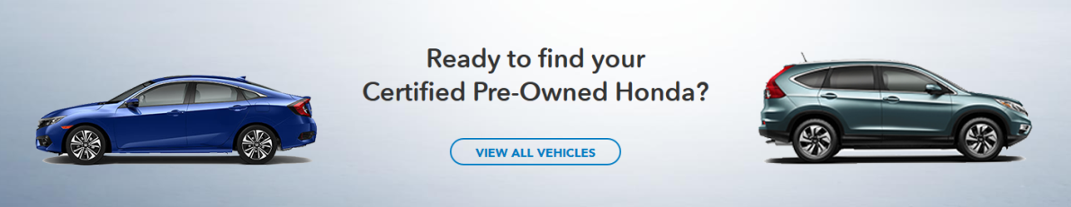 Searcg for Honda Certified Pre-Owned