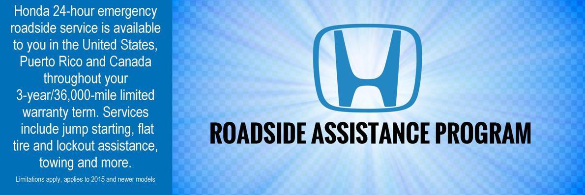 Honda Roadside Assistance >> Honda Roadside Assistance Honda Of Grays Harbor Aberdeen Wa